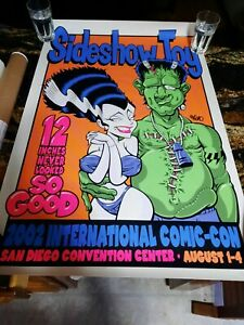 COMIC-CON 2002 SAN DIEGO SIDESHOW TOY ,  ARTIST SIGNED 'KEMO' $99.00