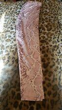 Nwot 1x Pink Snake Pattern Leggings