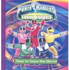 Power Rangers Time Force Time to Save the World Paperback Book B51