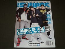 2012 FEB/MAR THE SOURCE MAGAZINE - 2 CHAINZ - TYGA - COMING OF AGE COVER- O 6417