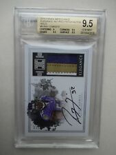 BGS 9.5 PANINI IMPECCCABLE RAY LEWIS RETIRED PATCH 10 AUTO ELEGANCE 08/12 WOW