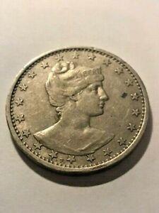 1901 Brazil 400 Reis XF+ #17992