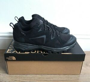 THE NORTH FACE MENS TRAIL EDGE BLACK HIKING WATERPROOF SHOES UK 8,9,10