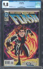 Flash (1987) #92 Cgc 9.8 Nm/Mt Wp 1St App Of Impulse Bart Allen