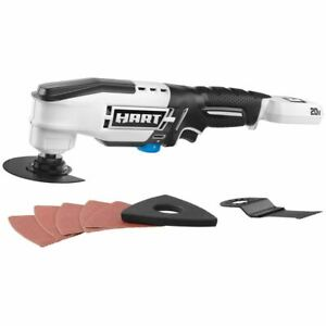HART 20-Volt Cordless Oscillating Multi-Tool (Battery Not Included) for Cutting