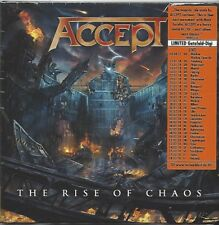 ACCEPT / THE RISE OF CHAOS - LIMITED EDITION * NEW CD 2017 * NEU *