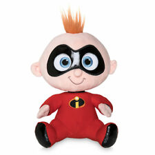 """DISNEY STORE INCREDIBLES 2 JACK-JACK PLUSH SMALL 8 1/2"""" SEATED  SOFT & CUDDLY"""