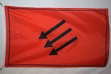 German Eiserne Front Anti-Nazi Weimar Republic Garage Basement Dorm Flag 3x5