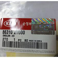 OEM GENUINE K5 Logo Trunk Tail EMBLEM for 2011-2014 KIA OPTIMA K5 863102T000