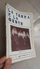 LA TERRA E LA GENTE N 6-7 1931 CALABRIA CUCOLLARO REGGIO FIERA LEVANTE VISALLI