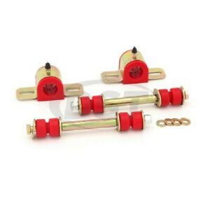 Energy Suspension For GMC Sonoma 1991-2003 Sway Bar Bushing Set Front Red