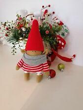 Wichtel Gnom schöne Weihnachts Deko Merry-x-masca.25cm.