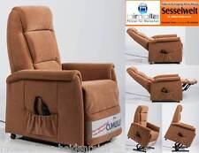 Himolla Fernsehsessel Sessel 9773 26 Y 2-Motor Aufstehhilfe Stoff Braun Nougat