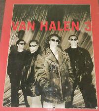 VAN HALEN FULLY SIGNED  POSTER