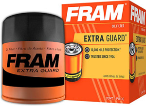 Engine Oil Filter Extra Guard Fram PH6607 Spin On Includes Gasket Replace OEM