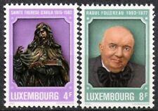 Luxemburg Nr.1054/55 ** Todestage 1982, postfrisch
