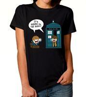 Fantastic Beasts Doctor Who Combo T-Shirt, Newt Scamander Tardis Men's Women Tee