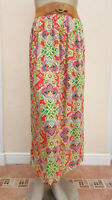 Peacocks - BNWT RRP £18 - Womens Coral / Multi Midi Skirt - size 12