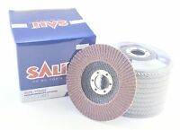 Flap Discs 115mm 40 60 80 120 Grit # Aluminium Oxide Rust Removal Angle Grinder