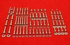 HONDA 1985-1988 XBR500 1989-1990 GB500 POLISHED STAINLESS STEEL ENGINE BOLT KIT