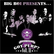 33 2LP Big Boi Presents Purple Ribbon Allstars – Got Purp? Vol. II HIP HOP