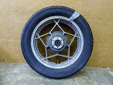 1981 Suzuki GS850 S828. rear wheel rim 17in