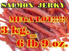 SALMON Jerky 6 lb 9 oz. = 3 KG . Mega lot!