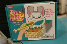 Lakeshore Learning Feed the Bunny fine motor Skill Educational Game LEARNING NEW