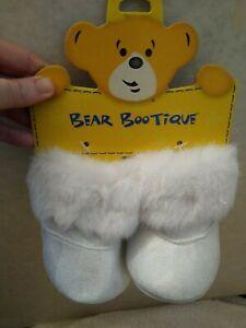 Build-A-Bear sparkle fur boot new net