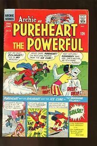 ARCHIE AS PUREHEART THE POWERFULL #3 VERY GOOD 4.0 1967 ARCHIE COMICS