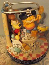 1994 Danbury Mint Garfield Anchors Aweigh Music Box