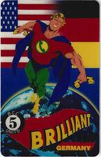 TK Telefonkarte/Phonecard USA Brilliant Man Germany Telecard Show Auflage 5000