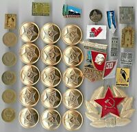 Rare Old LENIN Medal Pin Badge COLD WAR Russia CCCP Coin Collection Great Lot Y2