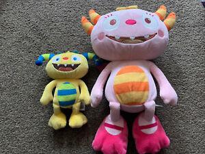 "Henry Huggle Monster & Talking Summer Soft Plush Teddies - Approx. 6"" & 12"""
