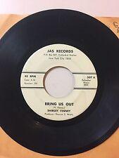 GOSPEL 45 RPM RECORD- SHIRLEY FINNEY - JAS RECORDS 507