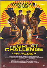 Dvd «THE GREAT CHALLENGE ~ I FIGLI DEL VENTO» con The Yamakasi Group nuovo 2004