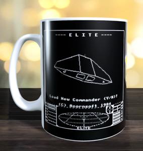 Elite Retro computer game Mug (BBC, Commodore,  Atari etc)