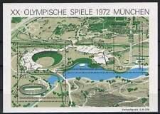 Duitsland Bund postfris 1972 MNH block 7 - Olympische spelen