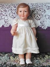 "poupée ancienne celluloïd: superbe ""Colette "" Petitcollin 57,5 cm"