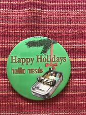 "Vintage Beastie Boys Holidays Hello Nasty 4"" Promotional Button Pin"
