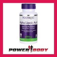 Natrol - Alpha Lipoic Acid Time Release, 600mg - 45 tablets