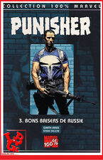 THE PUNISHER 3 03 T03 2001 100% CASTLE intégrale Panini Marvel Comics bd #NEUF #