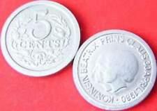 5 cent penning rond : Koningin Beatrix en Prins Claus (15)