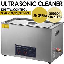 3L-30L Ultraschallreinigungsgerät Ultraschallreiniger Ultrasonic Cleaner + Korb