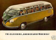 1952 Volkswagen Deluxe Bus DER KLEINBUS, VW Bus, Refrigerator Magnet,40 MIL