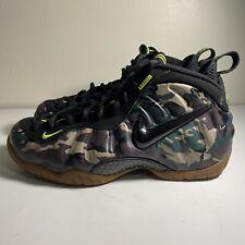 "Nike Air Foamposite Pro ""Army Camo"" Men's Size 9 (587547-300)"