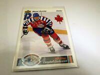 1991 Upper Deck All Star Card # 621 Wayne Gretzky Campbell Conference Center