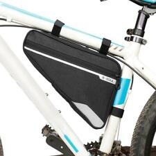 Bike Bag Triangle Bicycle Front Tube Frame Bag Outdoor Triangle Bicycle Front