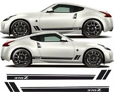 Nissan 370Z Side stripes Decals Stickers any colour 370 Z