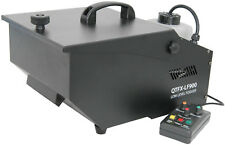 QTX Low Level Fogger Fog Machine 900W Ice Tray Fluid Control Output Time Delay